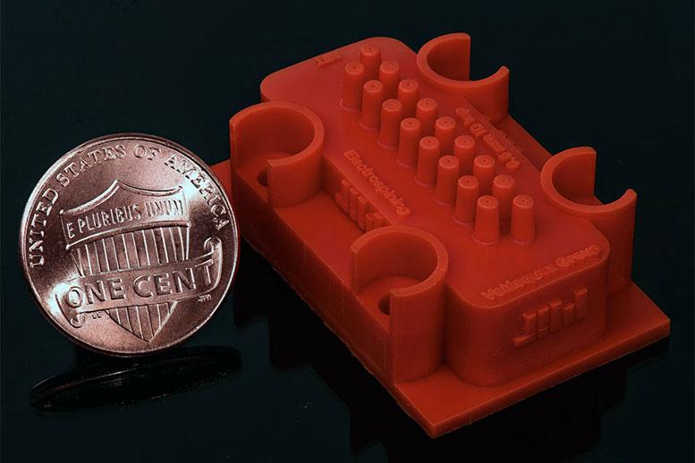 3D印刷喷嘴系统构建更好的纳米纤维